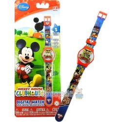 Годинник Mickey Mouse (5 функцій: міс, дат, год, хв, сек) MKRJ6