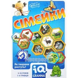 """Гра настільна Granna """"IQ Сімейки"""" + Сумка"""