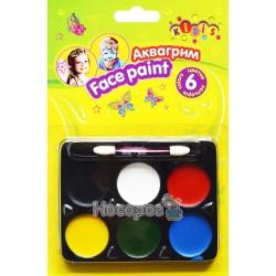 Краска-грим Kidis для лица 7768 6 цветов