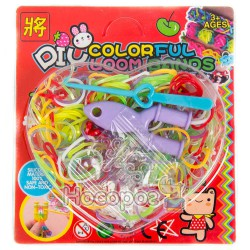 Набор резинок для плетения DIY Colorful
