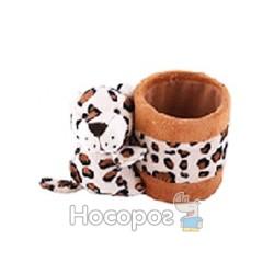 """Подставка PDH-705 для ручек плюшевая игрушка """"леопард"""""""