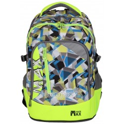 Ранець Tiger MX18-A09 Max Backpack, Neon Grunge