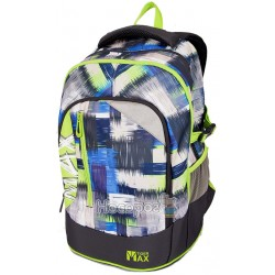 Ранець Tiger MX18-A06 Max Backpack, Lime Grunge