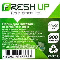 Блок бумаги для заметок Fresh FR-3611