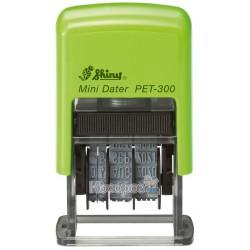 Міні-датер eco пластиковий, дата українська, 3мм. PET-300 Ukr