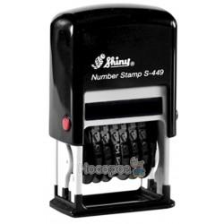 Міні-нумератор 9-розрд, пластиковий, 4мм. S-449