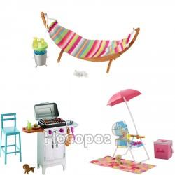 Набір меблів Barbie для пікніка в ас.(3) DXB69