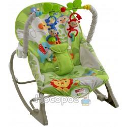 """Масажне крісло-гойдалка """"Веселі мавпочки"""" (до 18 кг) Fisher-Price CBF52"""