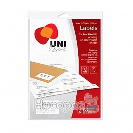 Бумага самоклеющаяся Uni Labels (830211)