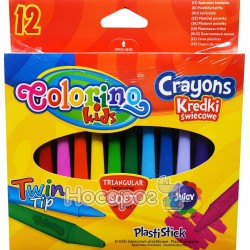 Карандаши пластиковые цветные Colorino