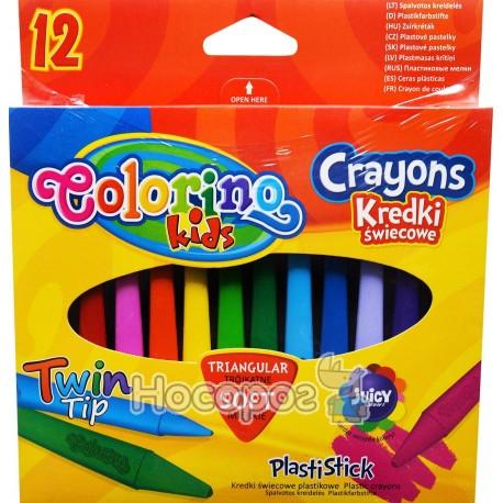 Фото Карандаши пластиковые цветные Colorino