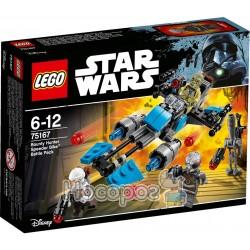 Конструктор LEGO Star Wars Скоростной мотоцикл охотников за головами 75167
