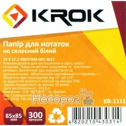 Бумага для заметок Krok KR-1111
