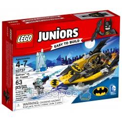 Конструктор LEGO Juniors Бэтмен против Мистера Фриза 10737
