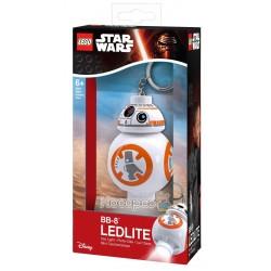 """Брелок-ліхтарик Лего """"Зоряні війни - Дроїд ВВ-8"""" LGL-KE101"""