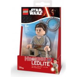 """Брелок-ліхтарик Лего """"Зоряні війни - Рей"""" LGL-KE102"""