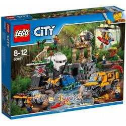 Конструктор LEGO Джунгли исследовательская станция 60161