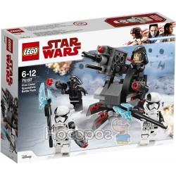 Конструктор LEGO Star Wars Боевой набор специалистов Первого Ордена 75197