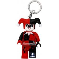 """Брелок-ліхтарик LEGO Супергерої """"Харлі Квінн"""" LGL-KE81"""