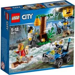 """Конструктор Lego """"Беглецы в горах"""" 60171"""