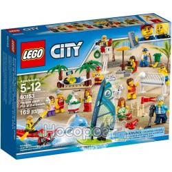 Конструктор LEGO Компания - развлечения на пляже 60153