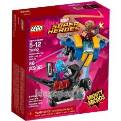 Конструктор LEGO Mighty Micros Звездный лорд против Небулы 76090