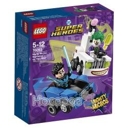 Конструктор LEGO Mighty Micros Найтвинг против Джокера 76093
