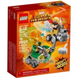 Конструктор LEGO Mighty Micros Тор проти Локі 76091