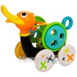 "Іграшка-каталка Yookidoo ""Музична качка"" 25292"
