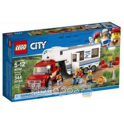 Конструктор LEGO Пикап и фургон 60182