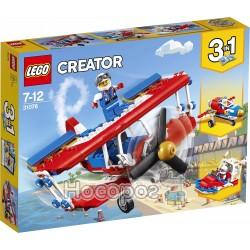 Конструктор LEGO Creator Безстрашний літак вищого пілотажу 31076