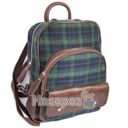 Рюкзак Pattern черный/зеленый 2U-1415