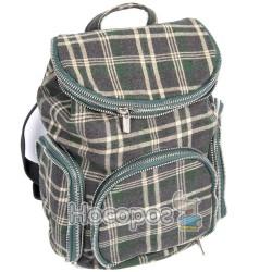 Рюкзак Pattern черный/молочный 2U-1415