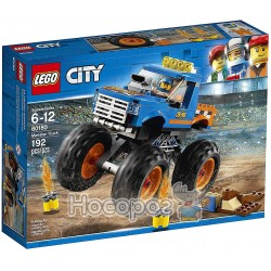 Конструктор LEGO City Грузовик-монстр 60180