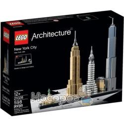"""Конструктор LEGO """"Архитектура Нью-Йорка"""" 21028"""