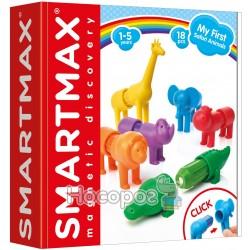 """Smartmax - Ігровий набір для конструювання Мої перші дикі тварини"""" (SMX 220)"""""""