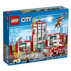Конструктор LEGO City Пожарное депо 60110