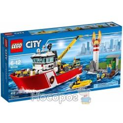 """Конструктор LEGO """"Пожарный катер"""" 60109"""