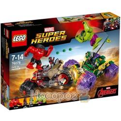 """Конструктор LEGO """"Халк против Красного Халка"""" 76078"""