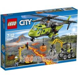 """Конструктор LEGO """"Вулкан: вертолет для доставки запасов"""" 60123"""
