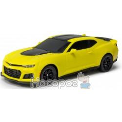 Автомодель – CAMARO ZL1 (ассорти красный, желтый, 1:26, свет, звук, инерц.) GearMaxx 89831