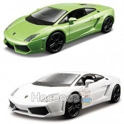 Автомодель - LAMBORGHINI GALLARDO LP560-4 (2008), (ассорти белый, светло-зеленый металлик, 1:32) Bb