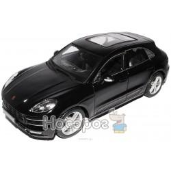 Автомодель - PORSCHE MACAN (черный, 1:24) Bburago 18-21077