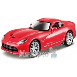 Автомодель - SRT VIPER GTS (2013) (красный, 1:32) Bburago 18-43033