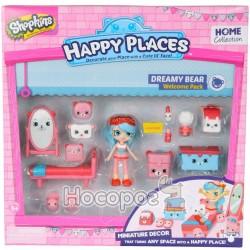 Игровой набор с куклой Happy Places S1 – Спальня Джесси Кейк