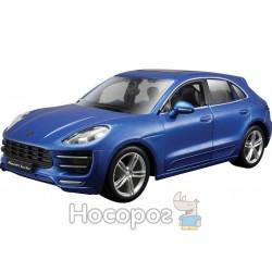 Авто-конструктор Bburago Porsche Macan (1:24) 18-25117 синий металлик