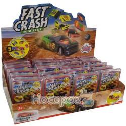 Автомодель Fast Crash (в диспенсере, ассорти, инерц. механ.) GG00201