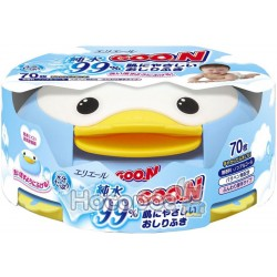 Влажные салфетки GOO.N для чувствительной кожи бокс-пингвин