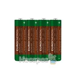 Батарейка Euroenergy SUPER ALKALINE LR6-SP4