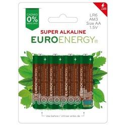 Батарейки Euroenergy SUPER ALKALINE (4 шт. в блистере)